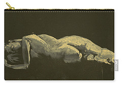 Kroki 2014 09 27_3figure Drawing White Chalk  Carry-all Pouch