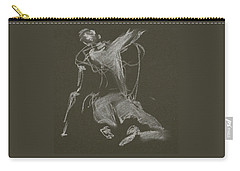 Kroki-2015-04-11-figure-drawing-white-chalk-marica-ohlsson-marica-ohlsson Carry-all Pouch