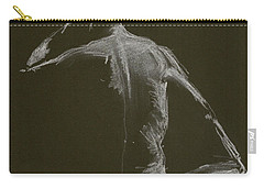 Kroki 2015 01 10_14 Figure Drawing White Chalk Carry-all Pouch