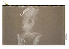 Kroki 2015 06 18_6 Figure Drawing White Chalk Carry-all Pouch