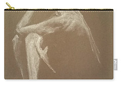 Kroki 2015 06 18_9 Figure Drawing White Chalk Carry-all Pouch