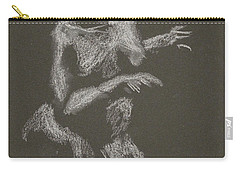 Kroki 2015 10 03_12 Figure Drawing White Chalk Carry-all Pouch