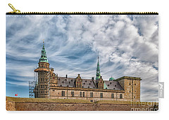 Carry-all Pouch featuring the photograph Kronborg Castle In Denmark by Antony McAulay