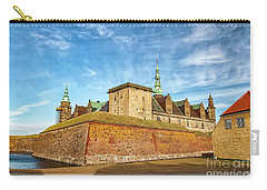 Carry-all Pouch featuring the photograph Kronborgsslott In Helsingor by Antony McAulay