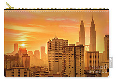 Kuala Lumpur Twin Towers Carry-all Pouch