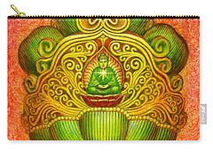 Kuan Yin's Buddha Crown Carry-all Pouch