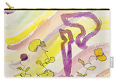 Kuf And Flowers Carry-all Pouch