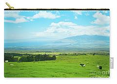 Kula Upcountry Maui Hawaii Carry-all Pouch by Sharon Mau
