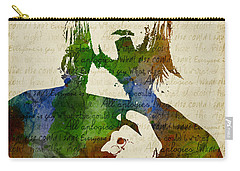 Kurt Cobain Watercolor Carry-all Pouch