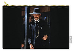Kurt Russell As Wyatt Earp Tombstone Arizona 1993-2015 Carry-all Pouch by David Lee Guss