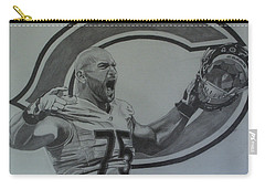 Kyle Long Of The Chicago Bears Carry-all Pouch