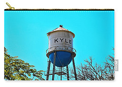 Kyle Texas Water Tower Carry-all Pouch