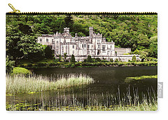 Kylemore Abbey Victorian Ireland Carry-all Pouch by Menega Sabidussi