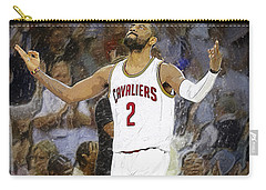Kyrie Irving Carry-all Pouch by Semih Yurdabak