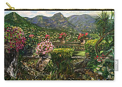 Carry-all Pouch featuring the painting La Belle Vence by Belinda Low