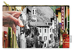 La Comacina Ristorante-colonno, Ital Carry-all Pouch by Jennie Breeze