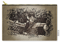 Dance,indonesian Women Carry-all Pouch