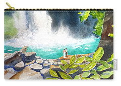 La Fortuna Waterfall Carry-all Pouch