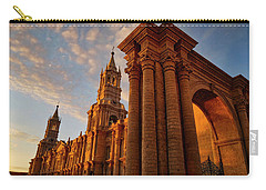 Carry-all Pouch featuring the photograph La Hora Magia by Skip Hunt