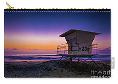 La Jolla Beach Sunset Carry-all Pouch