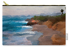 La Jolla California  Carry-all Pouch by Anthony Fishburne
