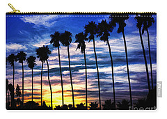 La Jolla Silhouette - Digital Painting Carry-all Pouch