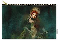 La Madonna Della Verde Carry-all Pouch by Jack Torcello