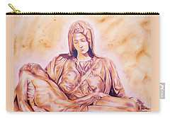 La Pieta By Michelangelo Carry-all Pouch