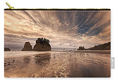 La Push Sunset Carry-all Pouch by Ian Good