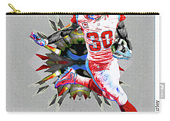 La Rams Paint Todd Gurley 5b Carry-all Pouch