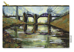 La River 6th Street Bidge Carry-all Pouch