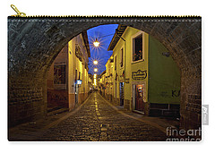 La Ronda Calle In Old Town Quito, Ecuador Carry-all Pouch