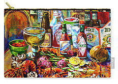 Crawfish Paintings Carry-All Pouches