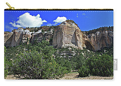 Carry-all Pouch featuring the photograph La Ventana Arch by Gary Kaylor