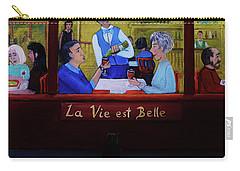 La Vie Est Belle Carry-all Pouch