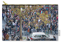 Labor Protest In Paris Carry-all Pouch