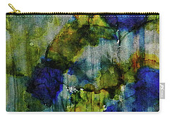 Carry-all Pouch featuring the painting Labradorite Dreams Ink #9 by Sarajane Helm