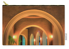 Carry-all Pouch featuring the photograph Labyrinthian Arches by T Brian Jones