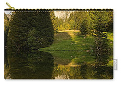 Lac De Fontaine Reflections Carry-all Pouch