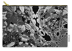 Lace Cap Hydrangea Flower Abstract Carry-all Pouch