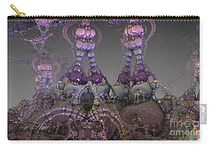 Carry-all Pouch featuring the digital art Lace by Melissa Messick