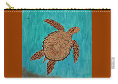 Lacey's Sea Turtle Carry-all Pouch