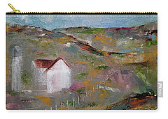 Carry-all Pouch featuring the painting Lackawanna Capture by Judith Rhue