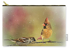 Ladies Out On A Limb Carry-all Pouch by Andrea Kollo