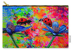 Lady Bugs Carry-all Pouch by Viktor Lazarev