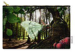 Lady Butterfly Carry-all Pouch by Alessandro Della Pietra