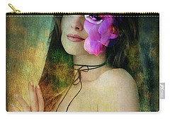 Lady By The Window Carry-all Pouch