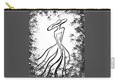 Lady Charm Carry-all Pouch by Irina Sztukowski
