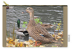 Lady Duck Carry-all Pouch