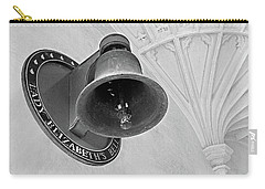 Carry-all Pouch featuring the photograph Lady Elizabeth's Bell Clare College Cambridge by Gill Billington